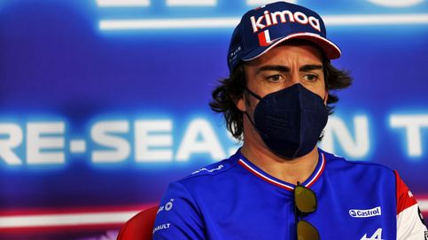 Fernando Alonso confirmó en su primera rueda de prensa por qué sigue siendo el 'jefe'