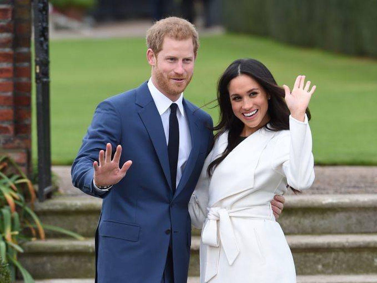 Foto: Meghan Markle y el príncipe Harry el día del anuncio de su compromiso matrimonial. (Getty)