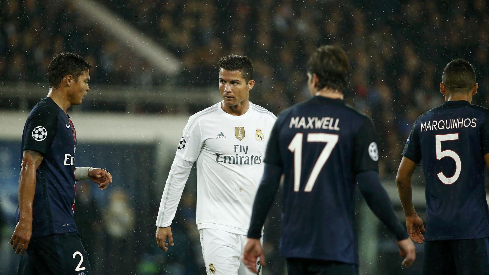 Foto: Cristiano Ronaldo, el pasado miércoles, en el partido contra el París Saint Germain. (Reuters)
