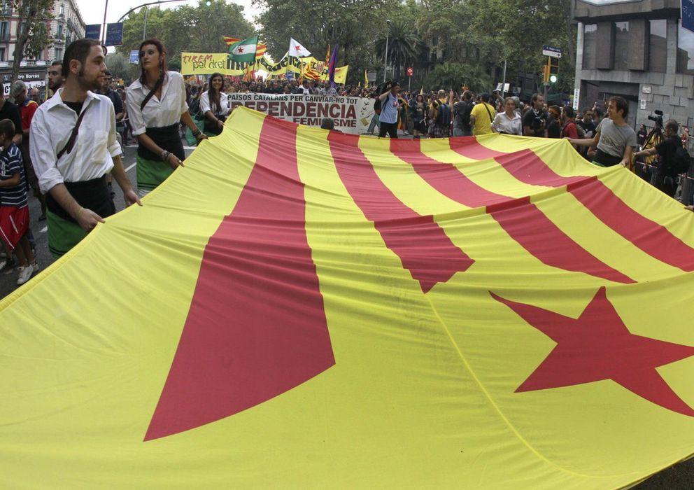 Foto: Manifestación de la Diada nacional de Cataluña
