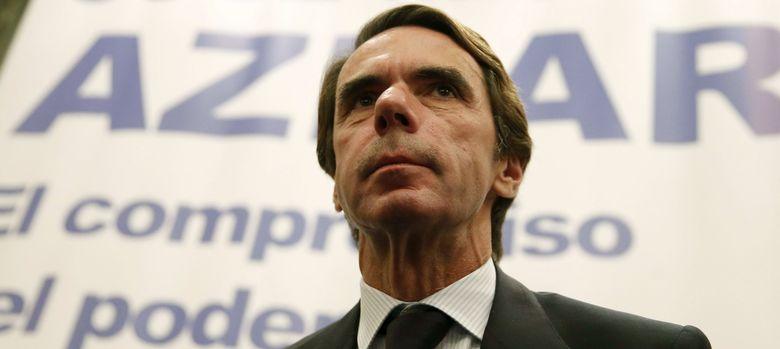 Foto: El expresidente del Gobierno José María Aznar (EFE)