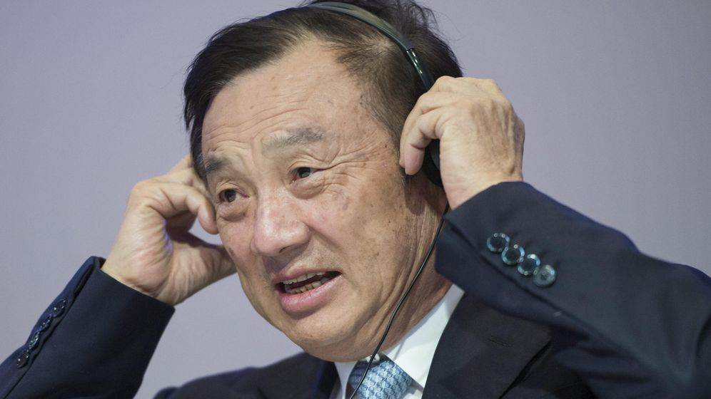 Foto: El fundador y presidente de Huawei, Ren Zhengfei. (EFE)