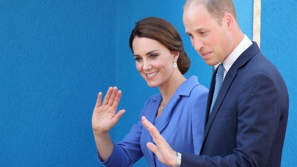 Foto: Los duques de Cambridge en una imagen de archivo. (Getty Images)