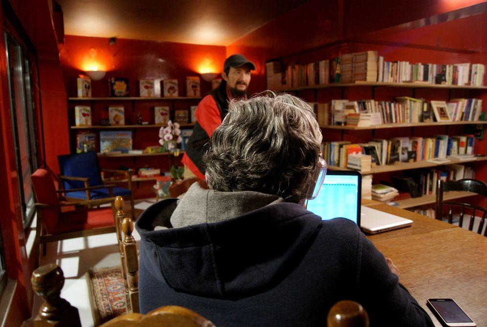 Foto: Interior de librería (EFE)