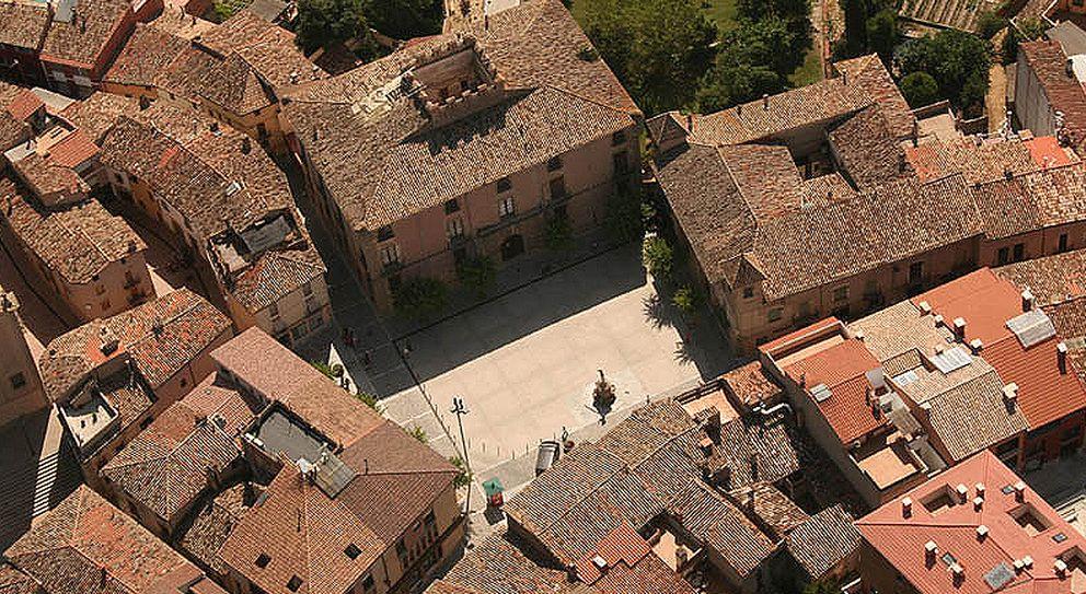 Foto: Vista aérea de la localidad de Centelles (Ayuntamiento de Centelles)