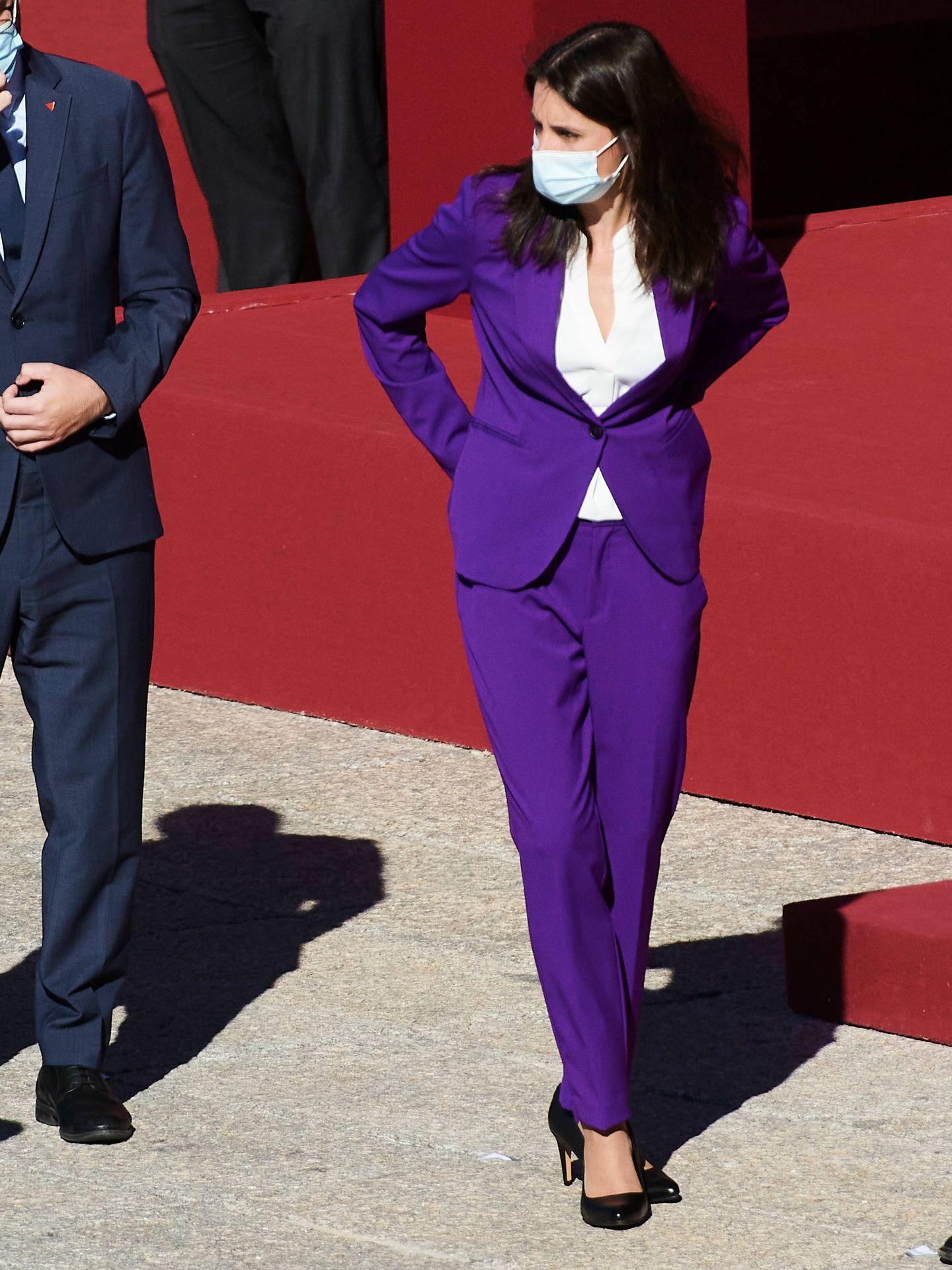 Irene Montero, con look corporativo. (Limited Pictures)