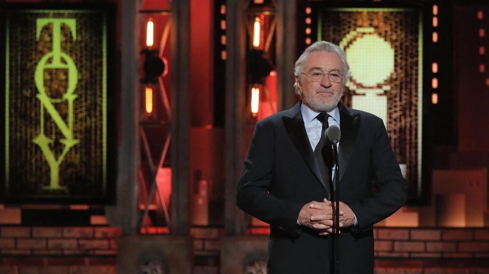 Foto: Robert de Niro, en su discurso en los Premios Tony | Reuters