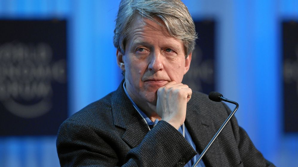 Foto: Robert J. Shiller en el foro económico mundial de Davos, en enero de 2012. (cc/Moritz Hager)