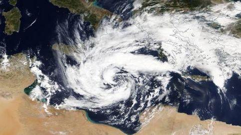 ¿Qué es un 'medicane'?  El inusual huracán que azota el Mediterráneo oriental