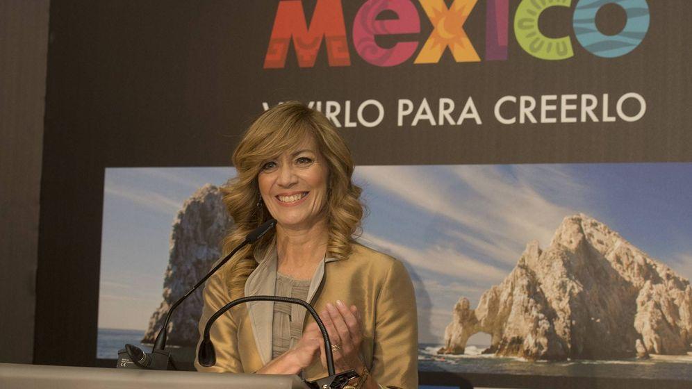 Foto: La directora del Consejo de Promoción Turística de México, Lourdes Berho. (Foto: David Mudarra)
