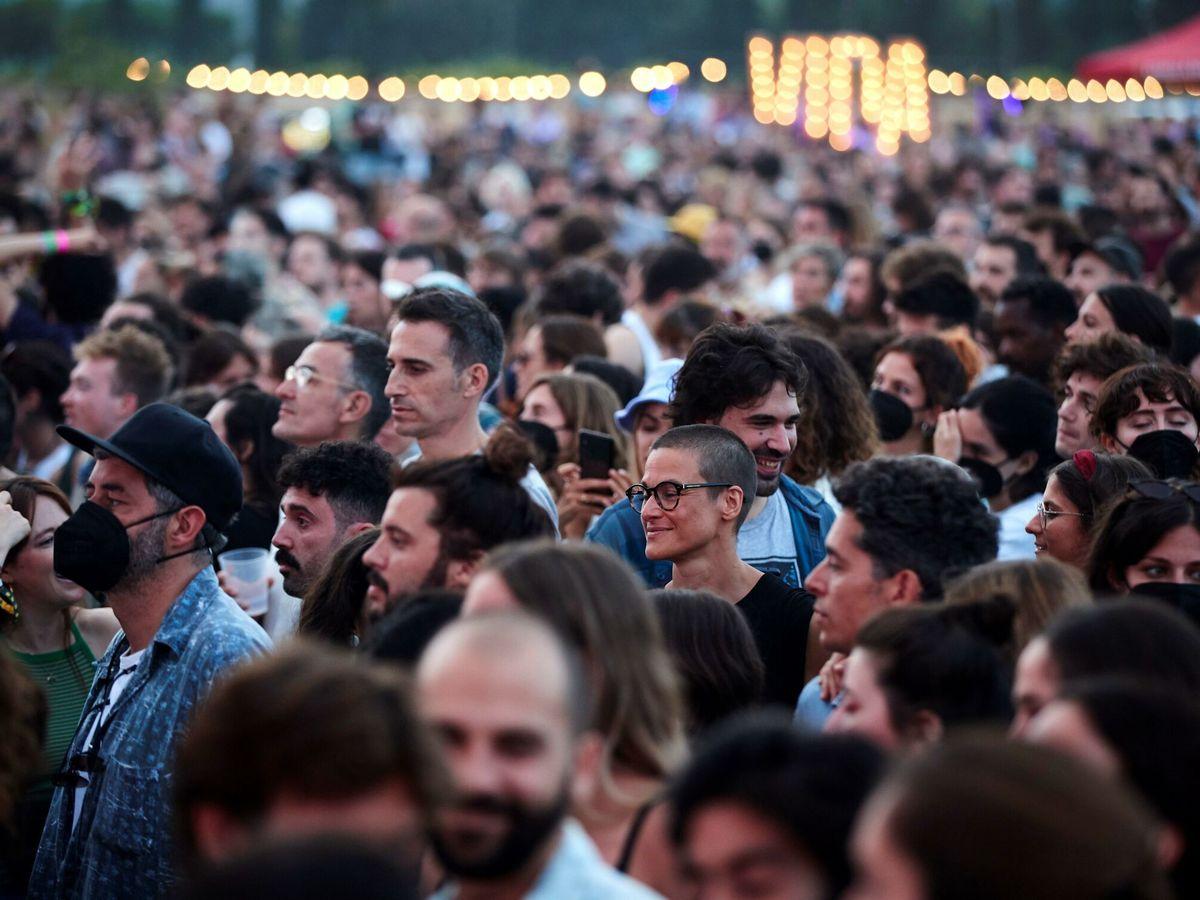 Foto: Festival Vida'21 en Barcelona. (EFE)