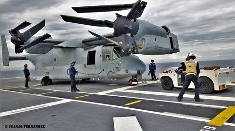 Avión militar y helicóptero en uno: el aparato más extraño de EEUU pone rumbo a Israel