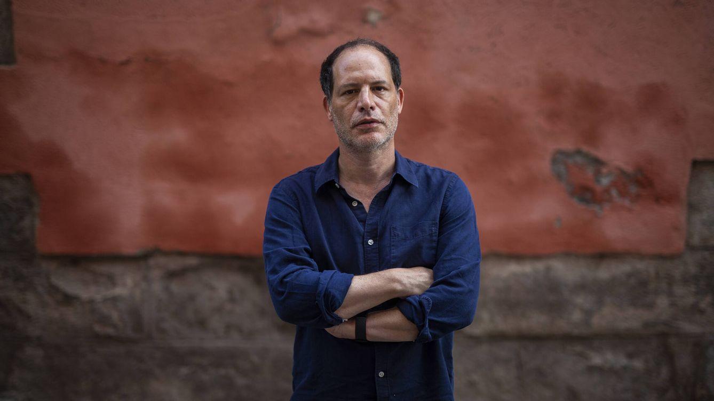 Foto: El periodista Simon Kuper, en La Latina. (Alejandro Martínez Vélez)