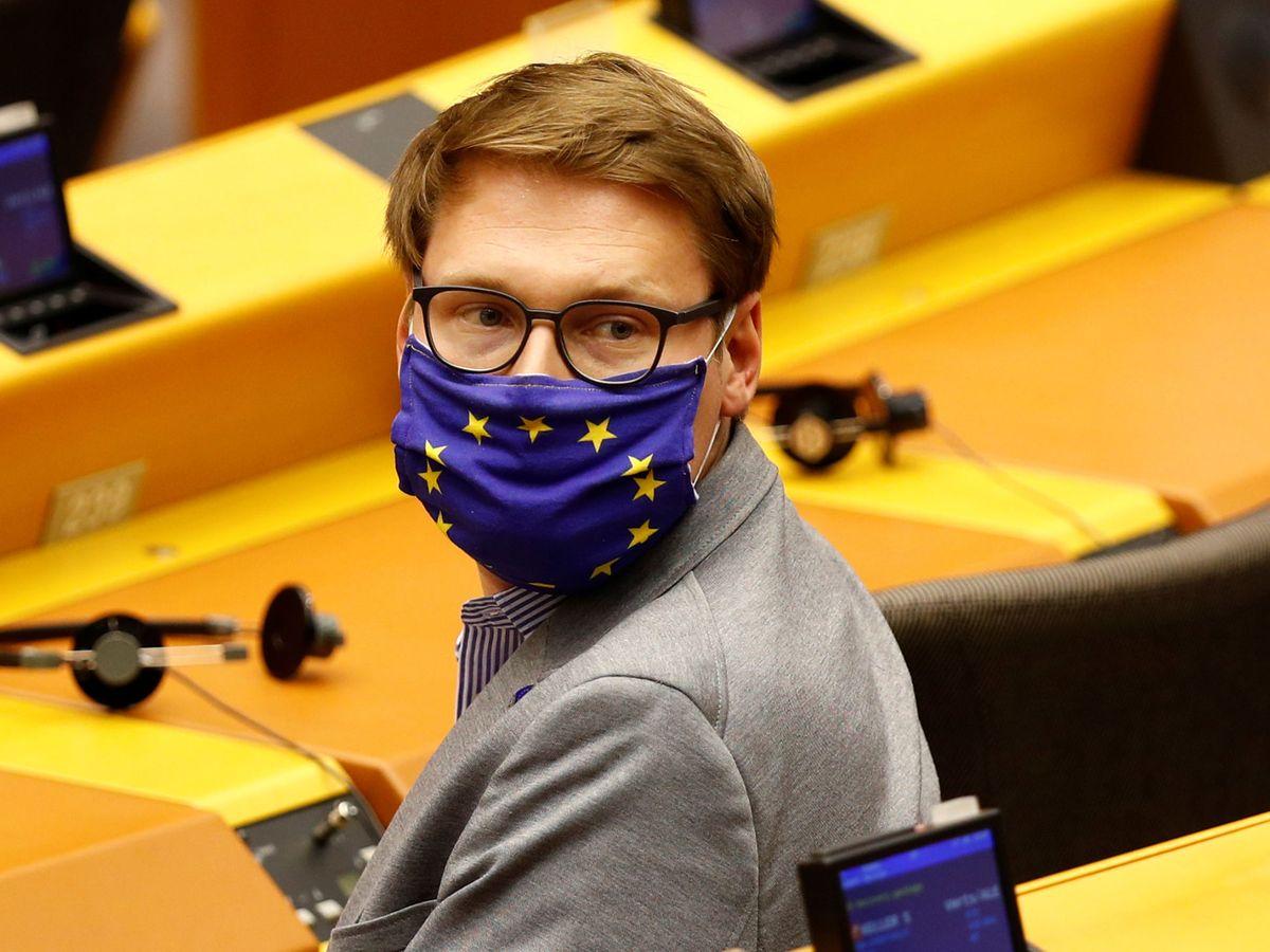 Foto: Moritz Körner en el Parlamento Europeo. (EFE)