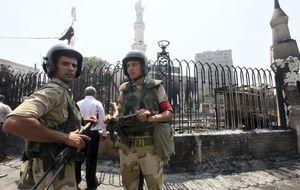 Las fuerzas egipcias usarán munición real contra cualquier ataque