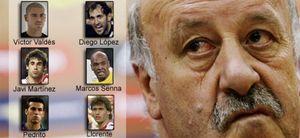 Las dudas de Del Bosque: Valdés, Javi Martínez y Pedro