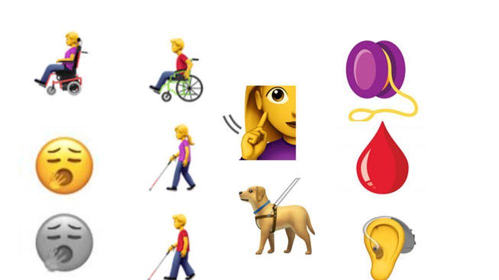 Foto: Algunos de los nuevos diseños para WhatsApp que funcionarán en 2019 (Foto: Unicode)
