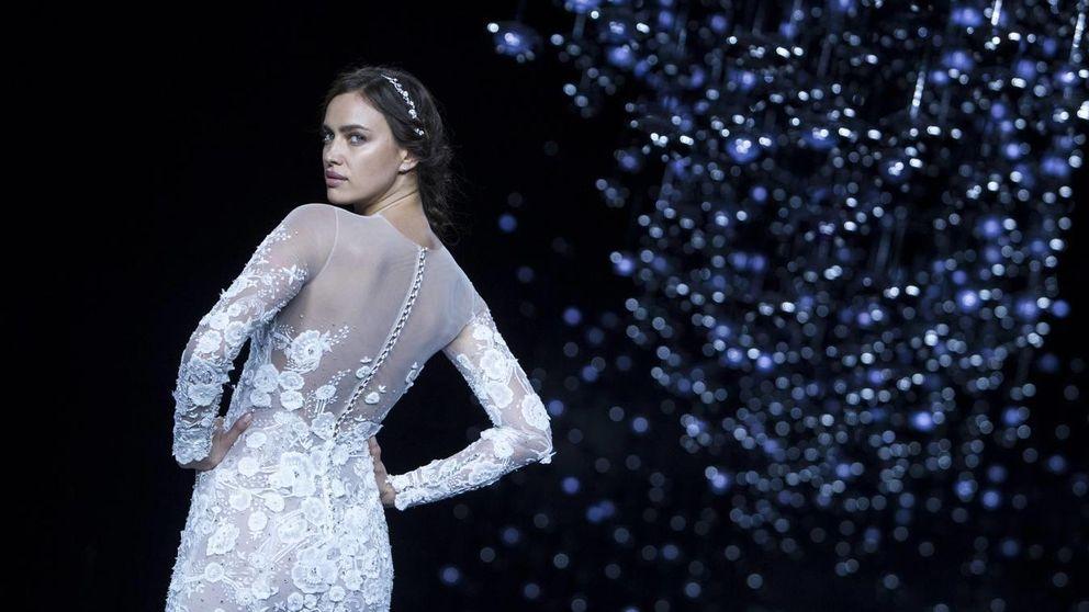 Irina Shayk se viste de blanco, pero no para casarse con Bradley Cooper