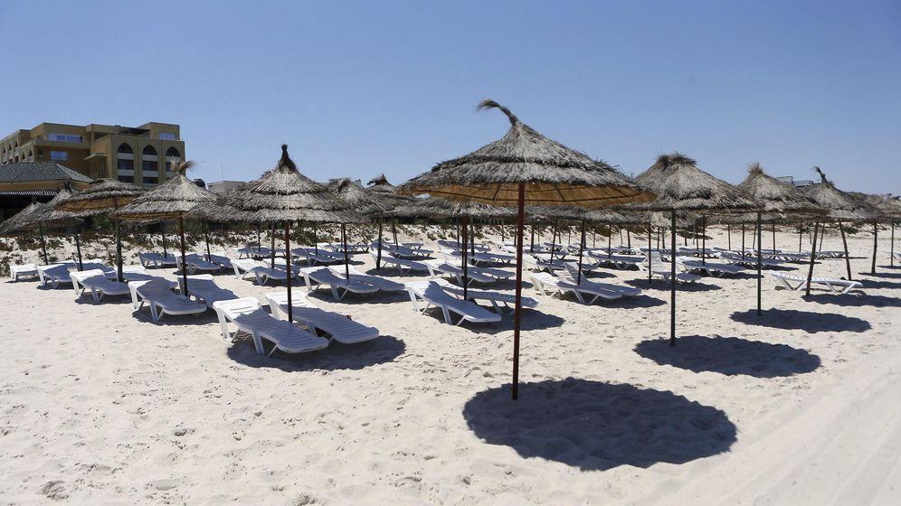 Foto: Playa en Túnez. (EFE)