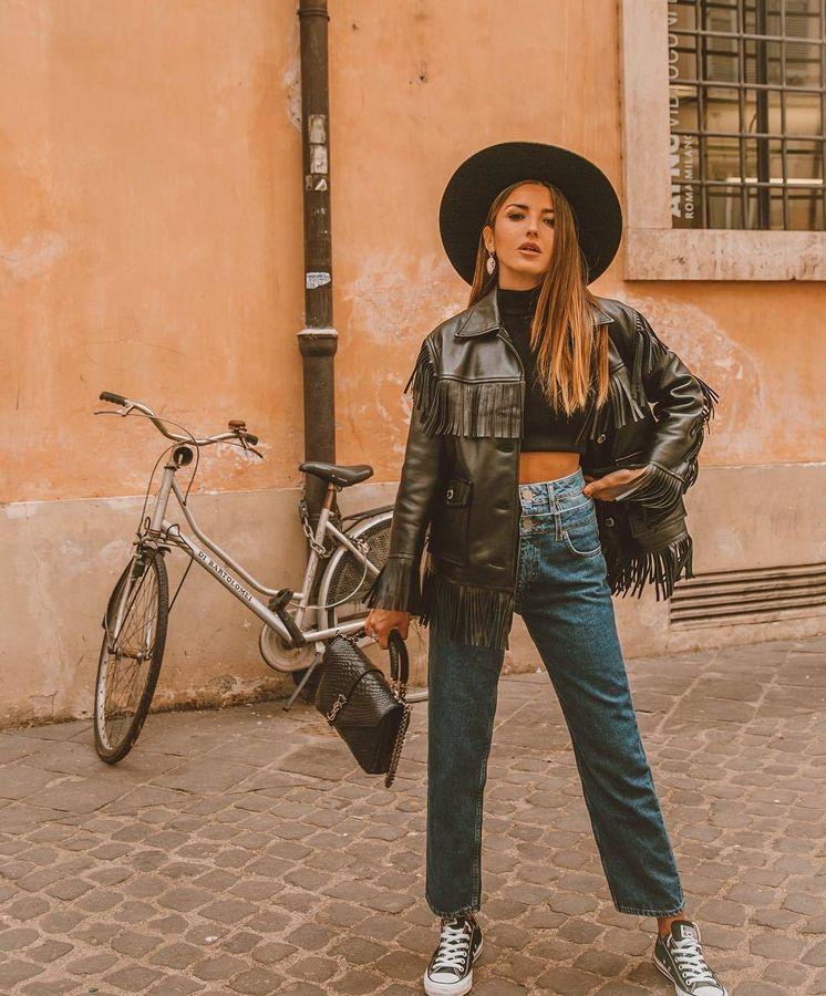 Foto: La influencer española Alexandra Pereira con una de las chaquetas más perseguidas de las redes sociales. (Instagram)