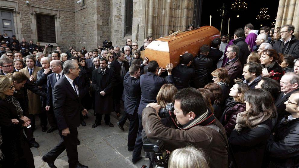 Multitudinario funeral por José Manuel Lara