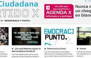 Partido X presenta un programa para salir de la crisis mirando a Europa