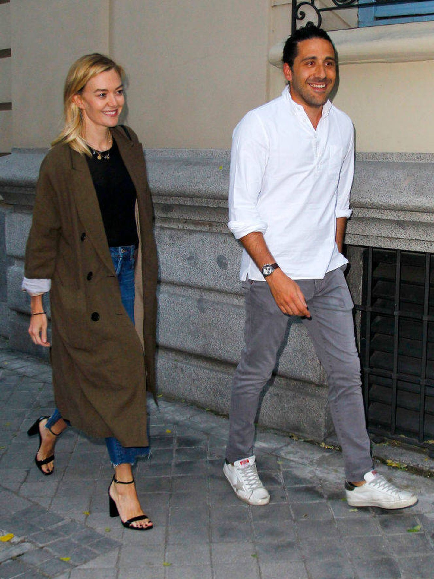 Marta y Carlos son el reflejo de la felicidad. (Getty)