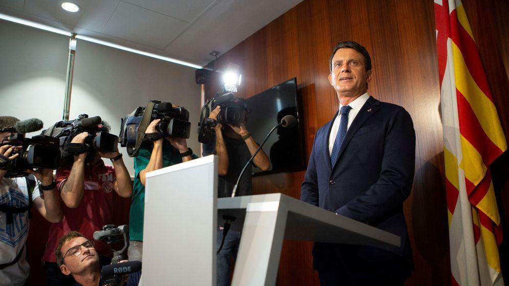 Foto: El ex primer ministro francés Manuel Valls. (EFE)