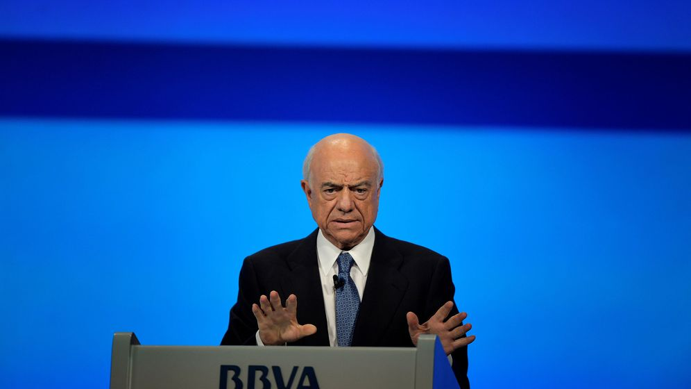 Foto: El expresidente de BBVA, Francisco González (Reuters)