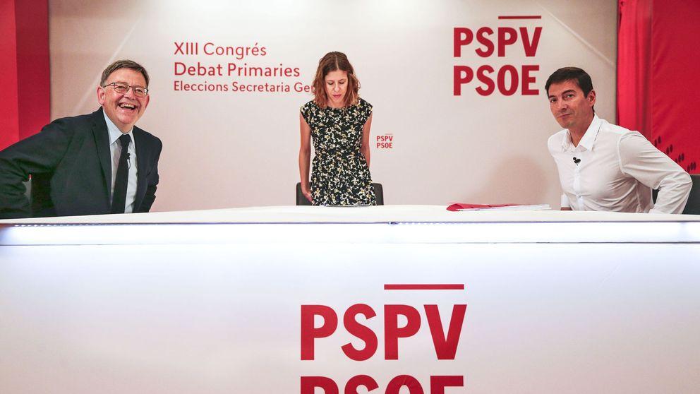 El fantasma del 'golpe' de octubre se cuela en el debate entre Puig y su rival sanchista