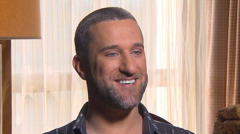 Dustin Diamond, en una entrevista en NBC. (NBC)