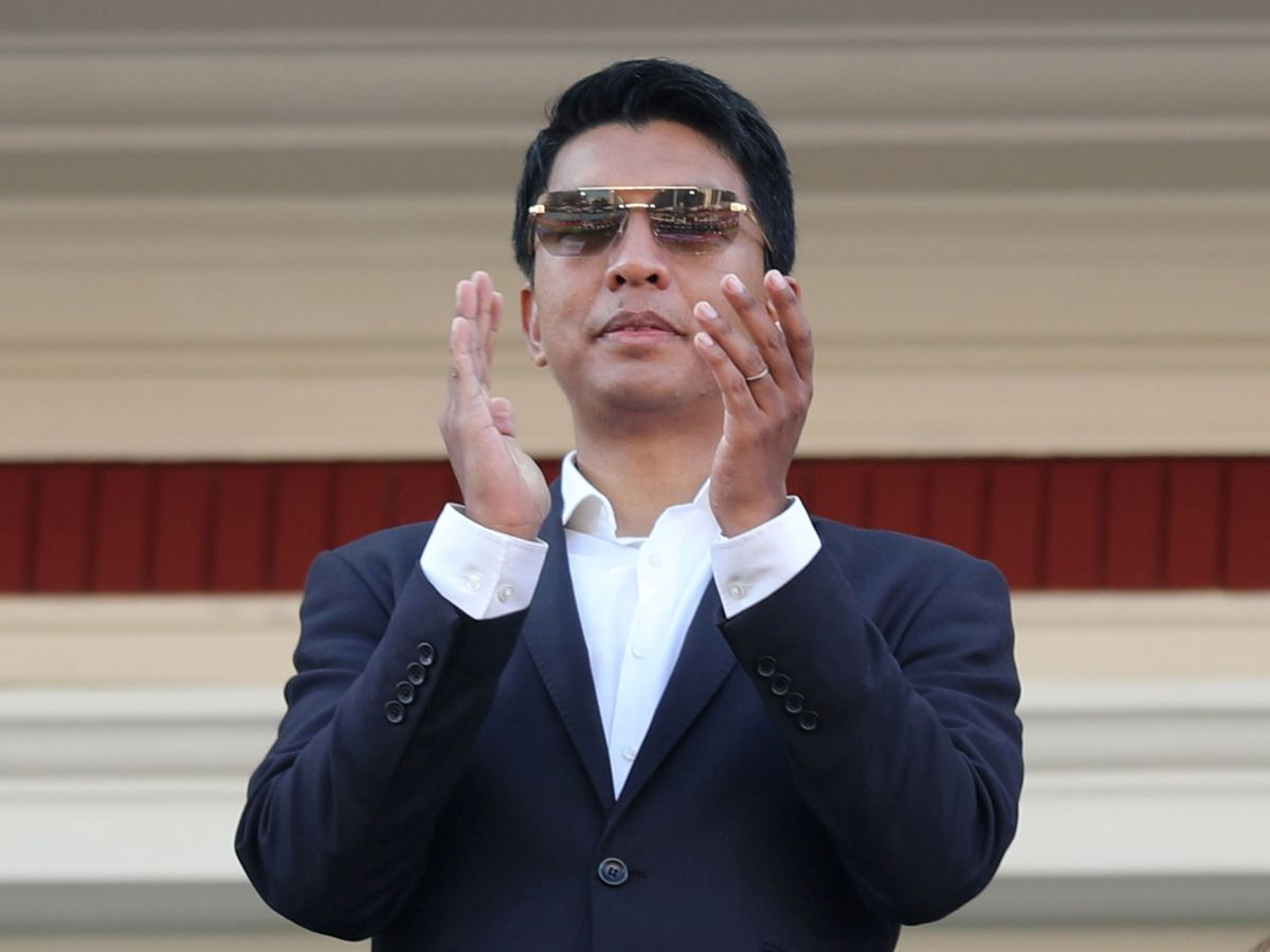 Foto: Andry Rajoelina, presidente de Madagascar. (Reuters)