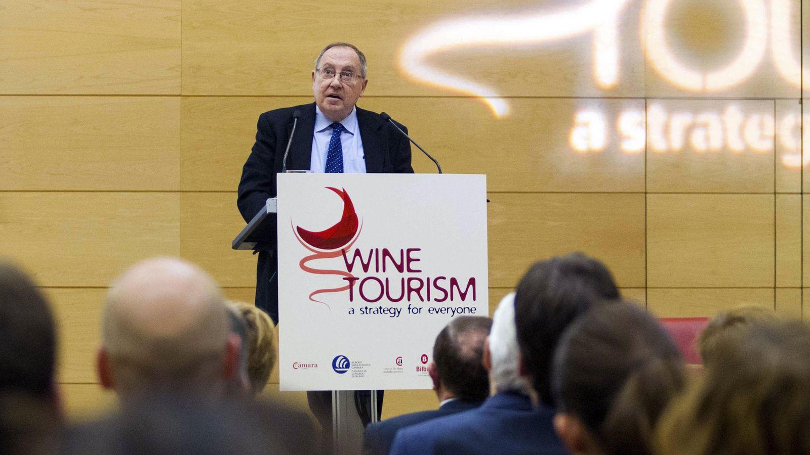 Foto: El presidente del Grupo Freixenet y de la Cámara de Comercio de España, José Luis Bonet. (EFE)