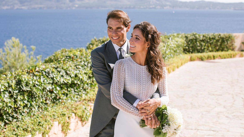 La pareja, el día de su boda. (EFE)