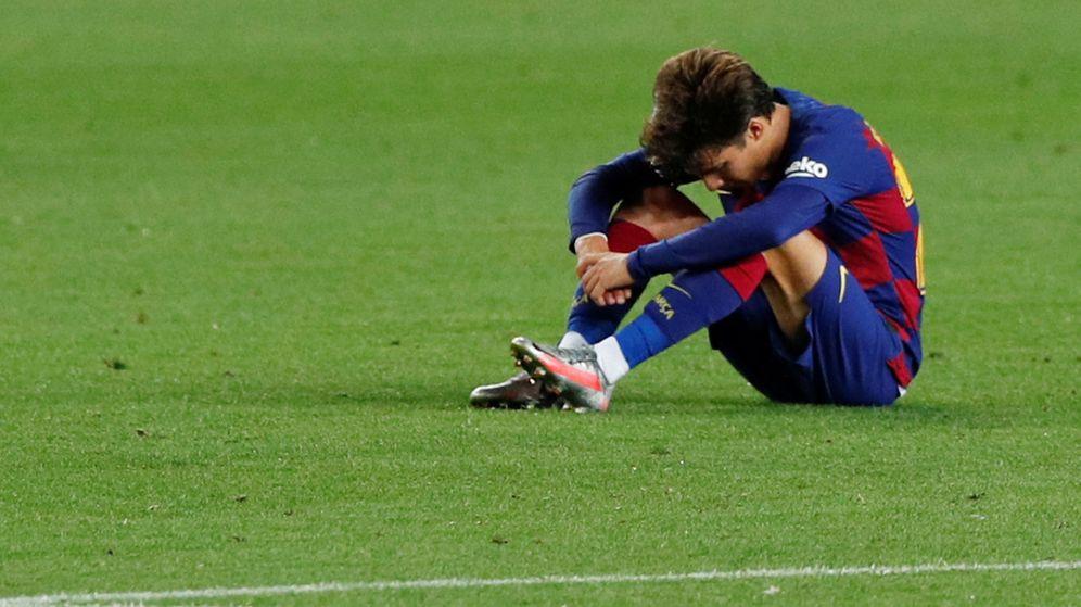 Foto: Riqui Puig, durante la pasada temporada. (Reuters)
