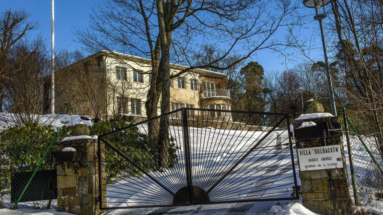Foto: Imagen de Villa Solbacken, la casa que habitarán los novios de Suecia