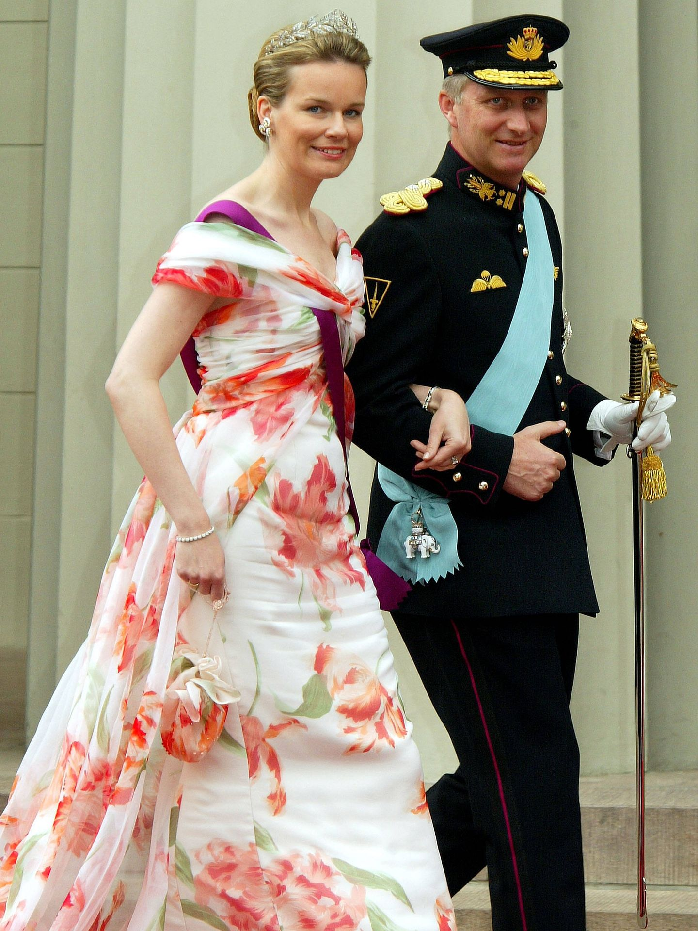 Felipe y Matilde de Bélgica. (Getty)
