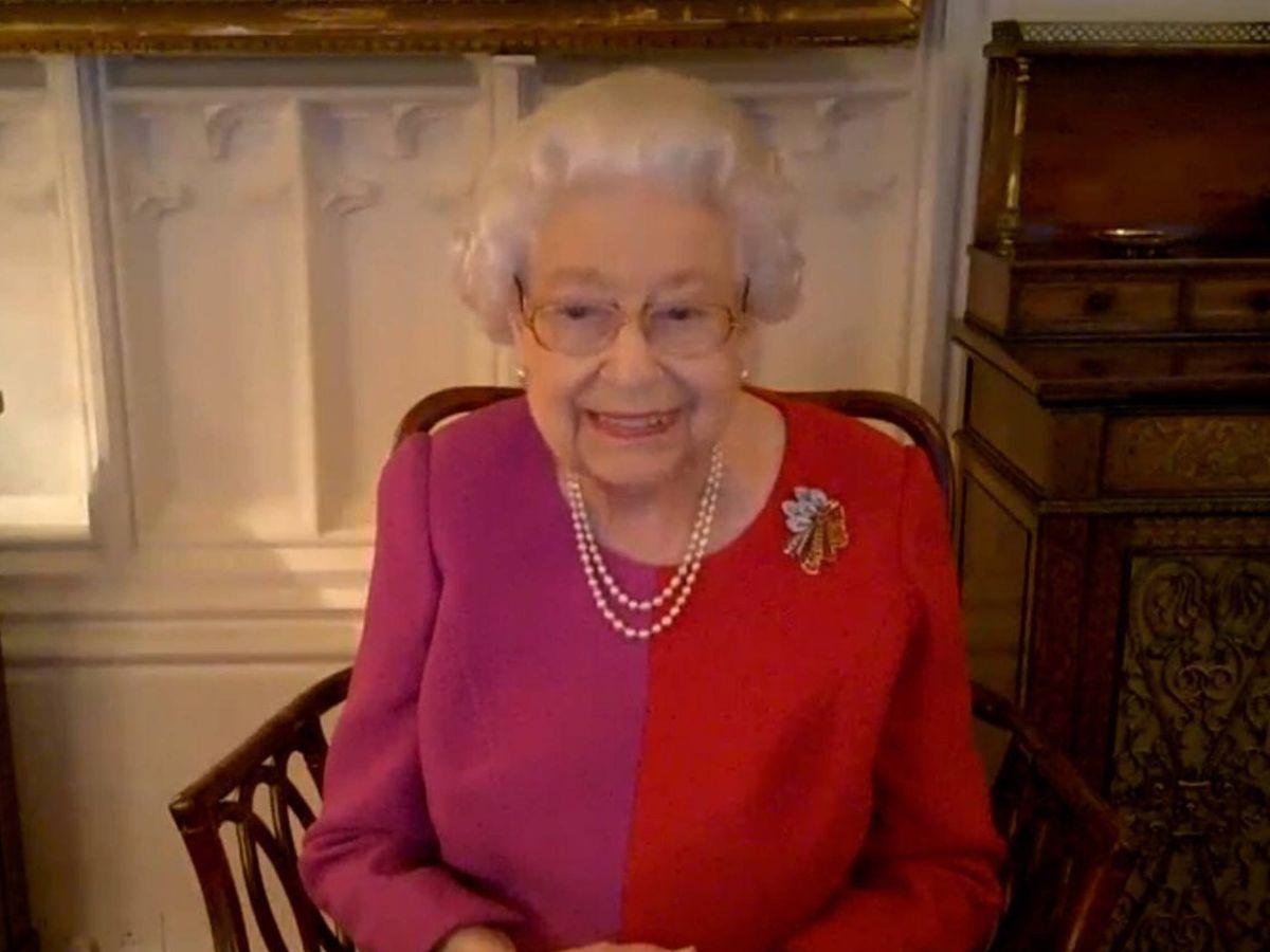 Foto: La reina Isabel II. (Instagram @theroyalfamily)