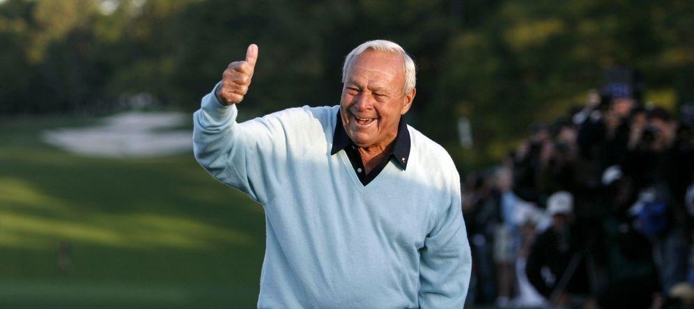 Foto: Arnold Palmer fue uno de los grandes de la historia del gol (Reuters)