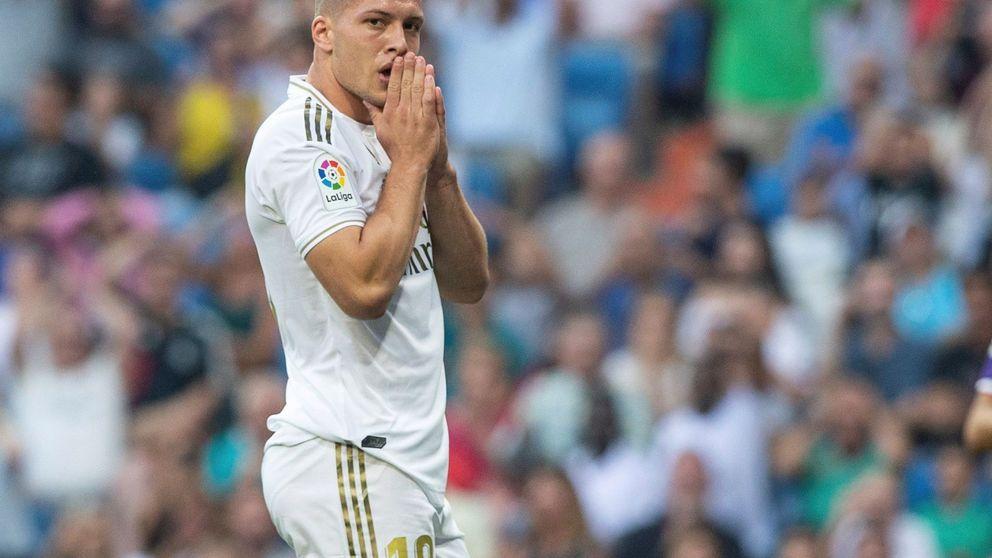El giro de Zidane con Luka Jovic: de revulsivo a la grada del Santiago Bernabéu