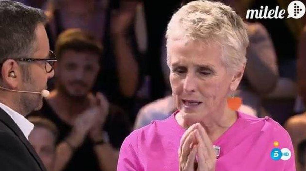 Foto: Mercedes Milá llora en 'Gran Hermano 17'
