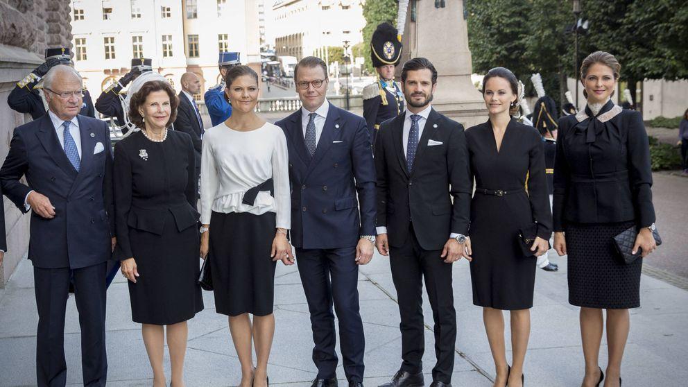 La 'espantada' de Sofía y Victoria de la agenda oficial sueca