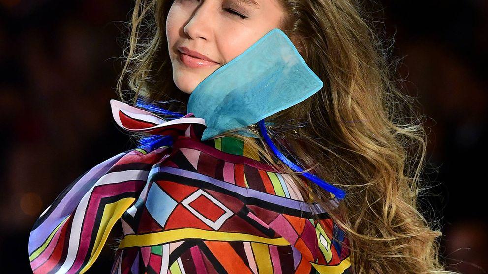 Gigi Hadid cierra el año desnudándose para Versace