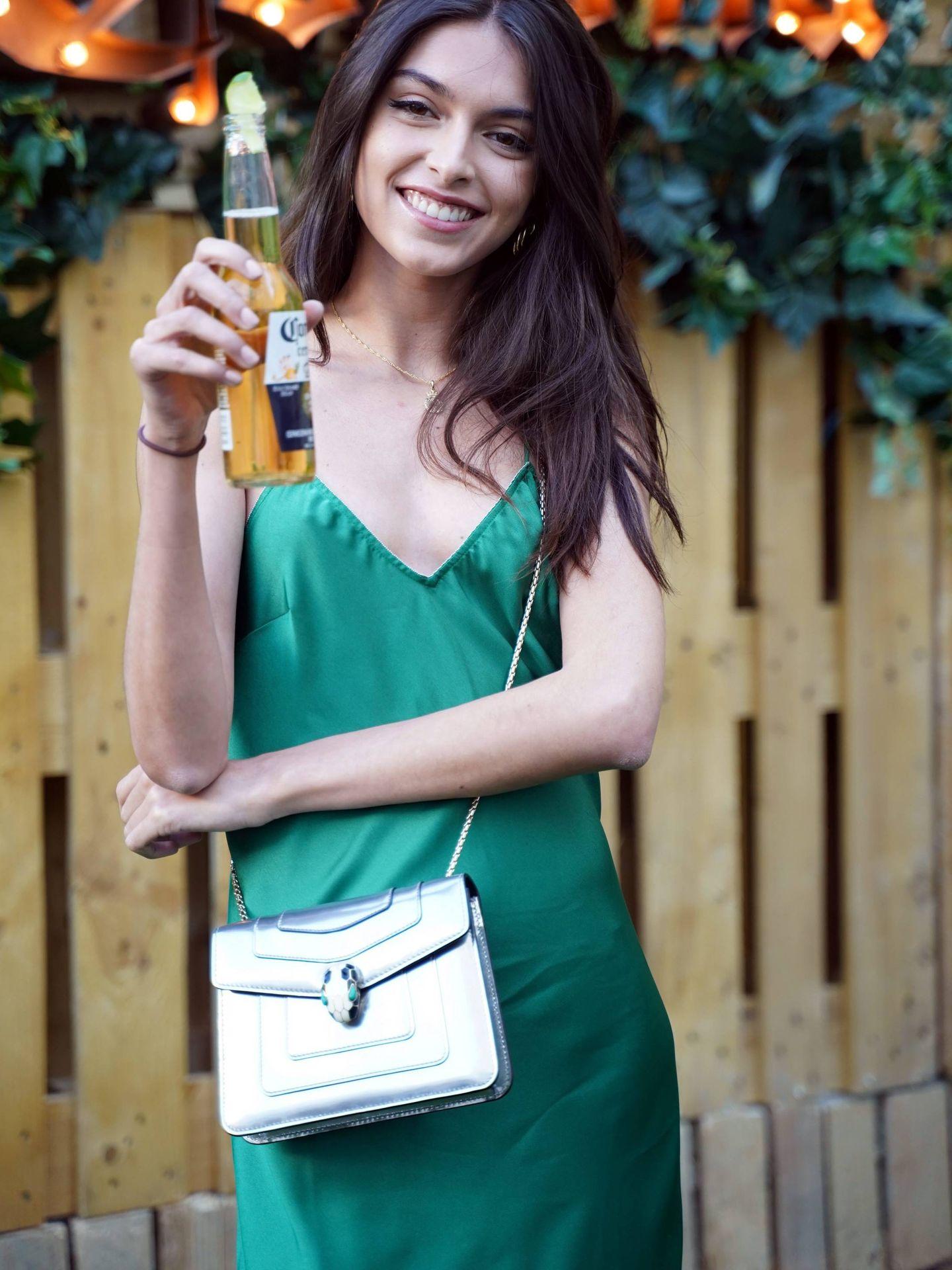 Lucía en el evento de Corona. (Cordon Press)