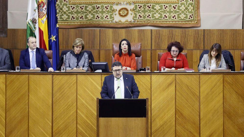 Foto: El líder de Vox, Francisco Serrano. (EFE)