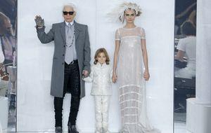 Hudson Kroenig: el modelo favorito de Karl Lagerfeld tiene seis años