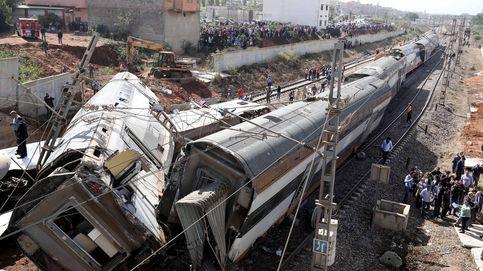 Al menos seis muertos tras descarrillar un tren cerca de Rabat, en Marruecos