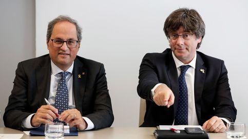 Torra viaja a Waterloo para coordinar con Puigdemont el avance electoral catalán