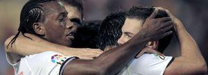 La conexión Mata-Villa deja al Valencia en el liderato