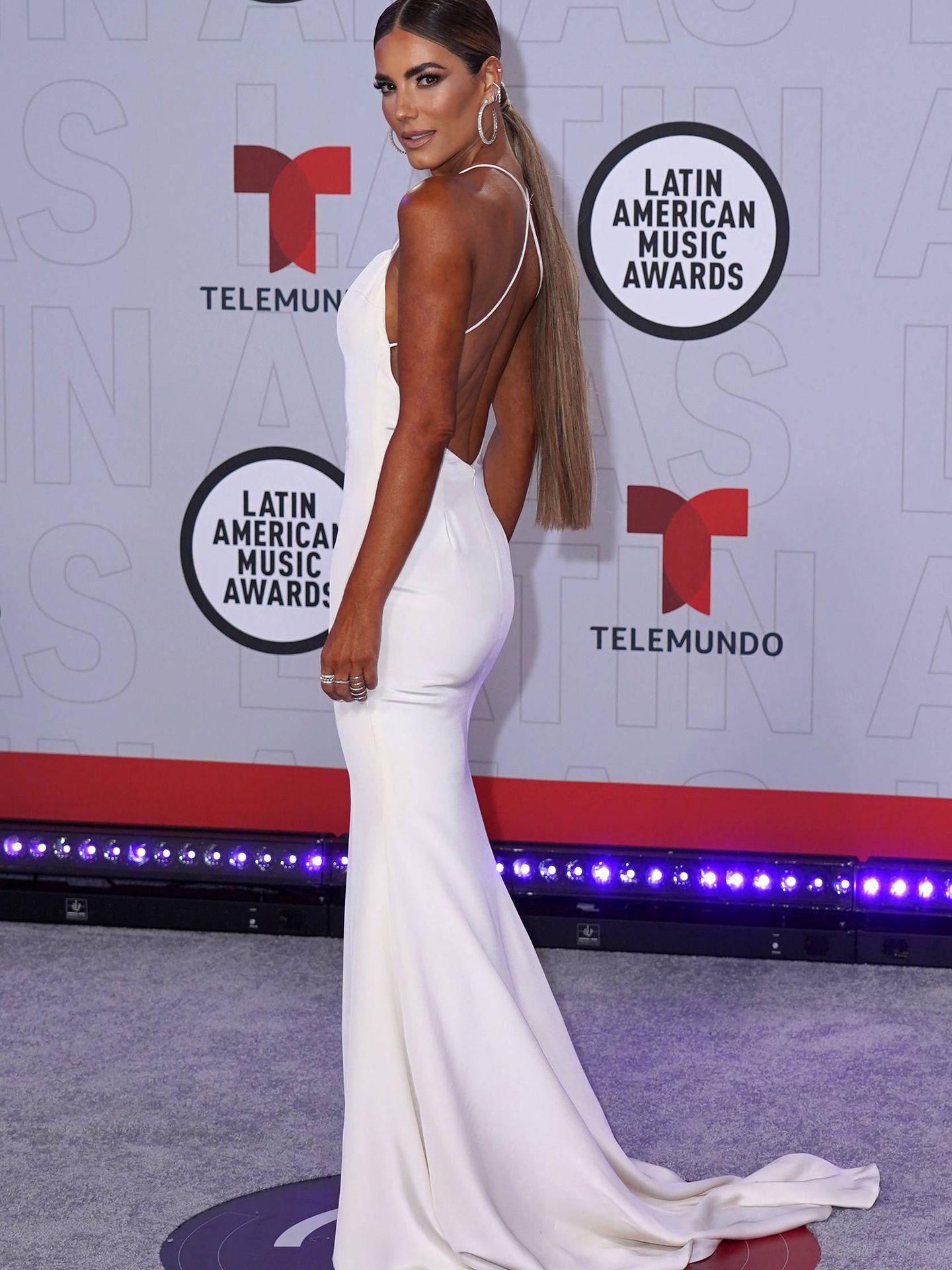 La coleta de Gaby Espino fue una de las melenas XXL que vimos en los Latin American Music Awards. (Getty)
